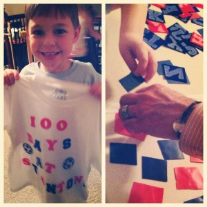 100 Day T-Shirt Project