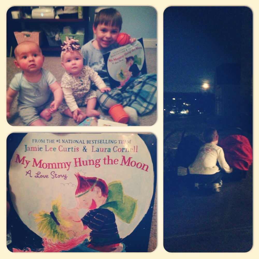 My Mommy Hung The Moon - sweet bedtime story!
