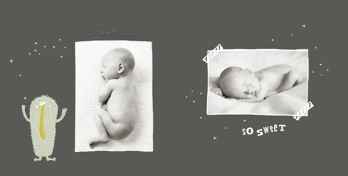 Monster Mash Newborn Album - 06