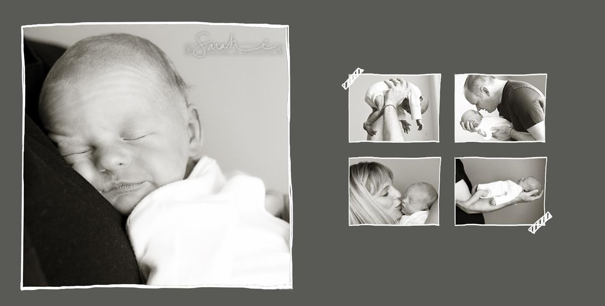 Monster Mash Newborn Album - 07