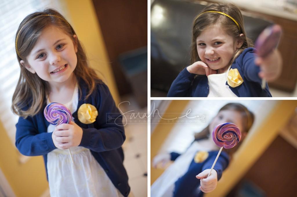 Family Photo Shoot - Lollipop inspiration!