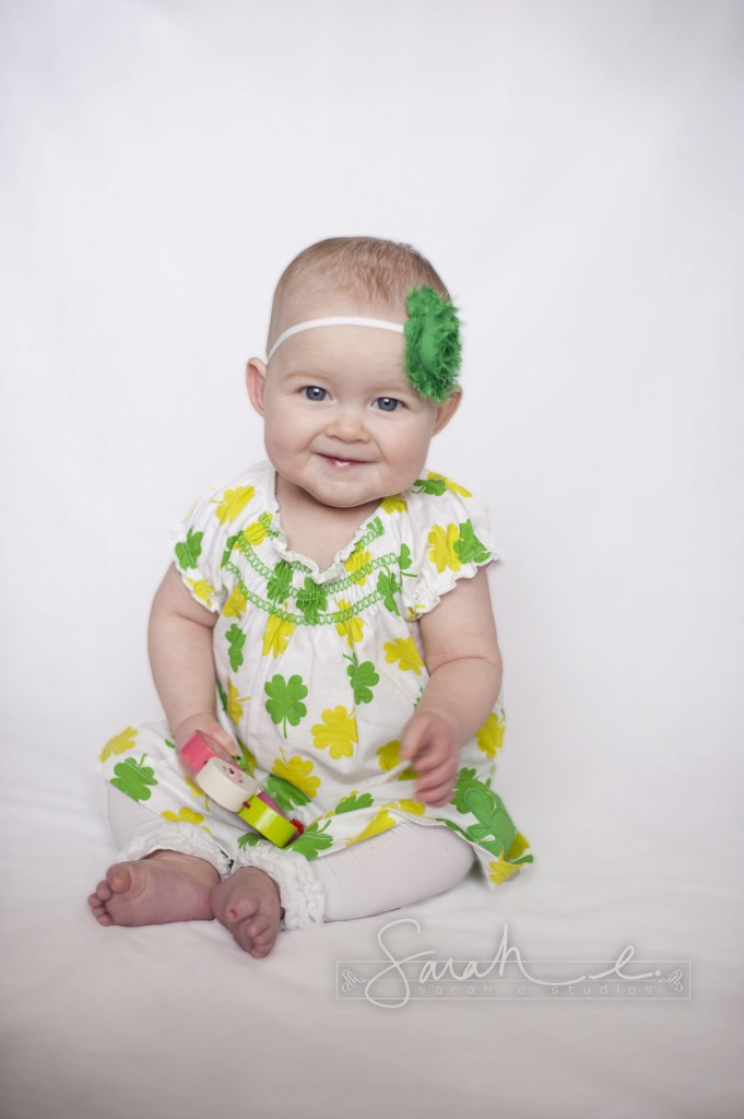 St. Patrick's Day Photo Inspriration - 8 Months - Twins -  002