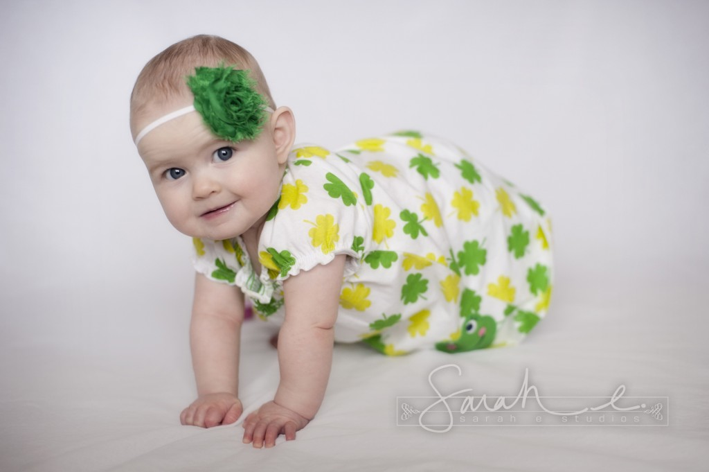 St. Patrick's Day Photo Inspriration - 8 Months - Twins -  004