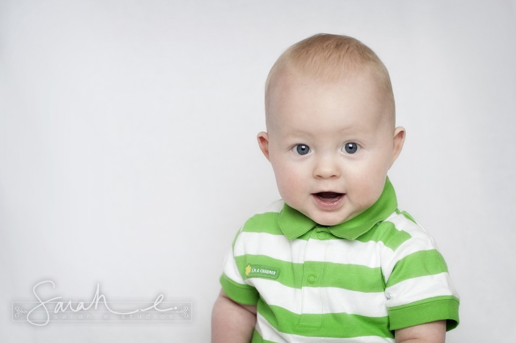 St. Patrick's Day Photo Inspriration - 8 Months - Twins -  005