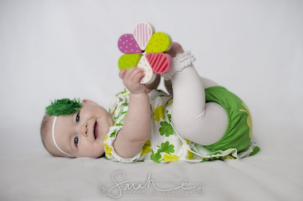 St. Patrick's Day Photo Inspriration - 8 Months - Twins -  006