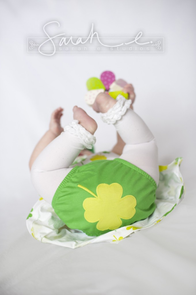 St. Patrick's Day Photo Inspriration - 8 Months - Twins -  008