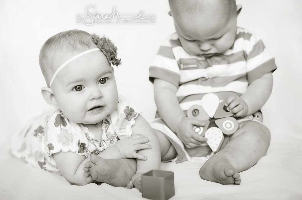 St. Patrick's Day Photo Inspriration - 8 Months - Twins -  013